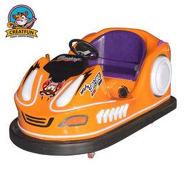 Glass Fiber Amusement Bumper Cars / Metal Frame Kids Bumper Cars 80kg