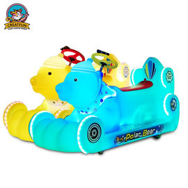 Cute Amusement Park Bumper Cars For Children Loosen Acceterator To Stop