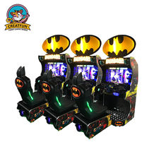 Batman Car Coin Operated Video Games , Arcade Car Machine Large Display